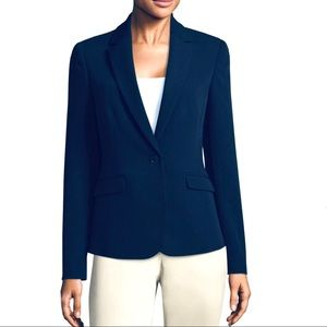 Worthington Petite navy blue blazer